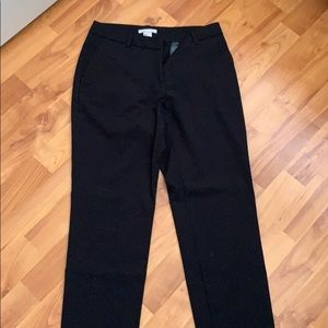 H&M black trousers work pants